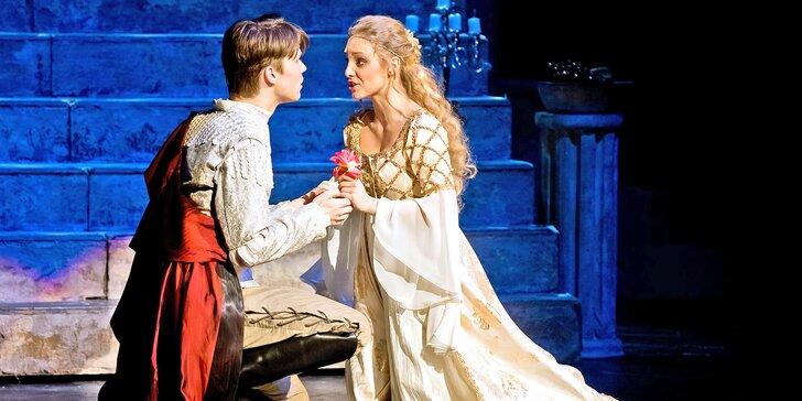 Vstupenky na slavný muzikál Romeo a Julie v divadle Hybernia