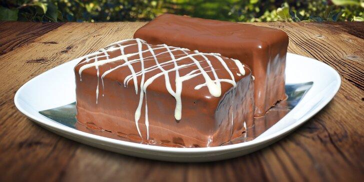 Chuť jako z pohádky: Dva 400g dorty bez mouky plné poctivé čokolády