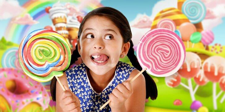 Nechte děti tvořit: výroba cukrovinky pro 1 až 3 osoby od 5 let