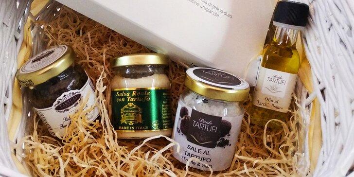 Lanýžové speciality: lanýžový krém, pasta, olej nebo lanýžová sůl