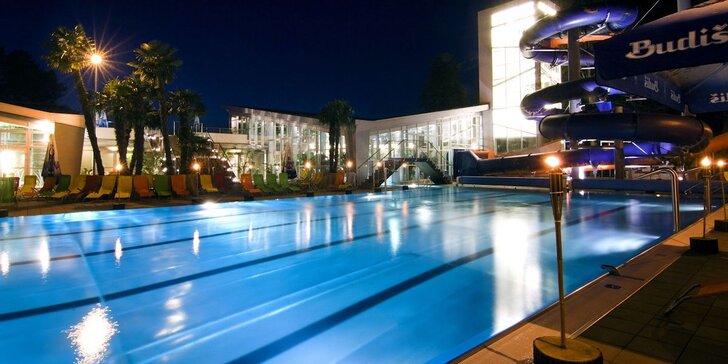 Relax v Turčianských Teplicích pro 2 s polopenzí a vstupem do aquaparku