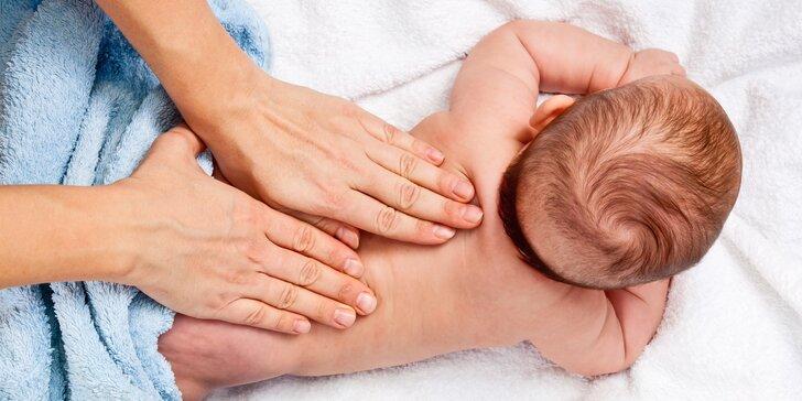Relaxace a společné chvíle s vaším miminkem: 5týdenní kurz masáží