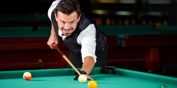 Karambol nebo billiard na hodinu či dvě v pubu Sborovna