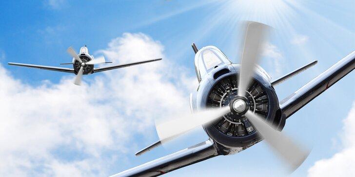 Druhá světová na simulátoru: let Messerschmittem i souboj dvou letců