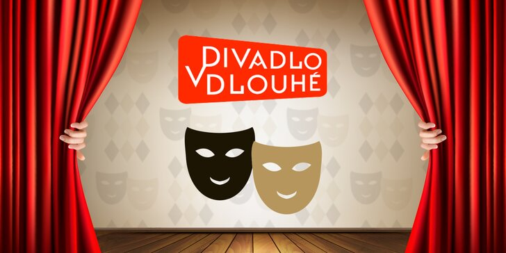 Sami nebo ve dvou do Divadla v Dlouhé - 40% sleva na vybrané představení