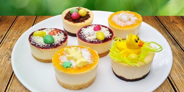 6 velikonočních cheesecaků z poctivých surovin