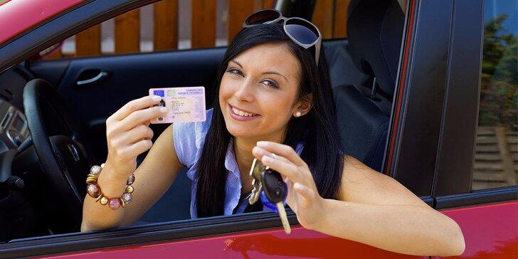Rezervace rychlokurzu na řidičský průkaz sk. B: V autoškole doplatíte 6800 Kč