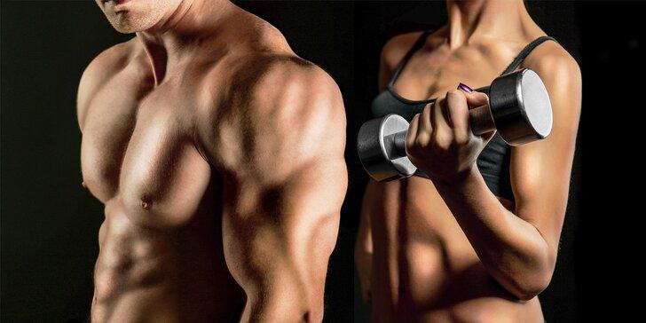 Jednorázový vstup nebo měsíční permanentka do fitness