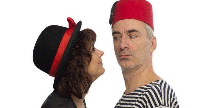 Divadelní představení Majda s Petrem zachraňují divadlo aneb Hurá na duchy!