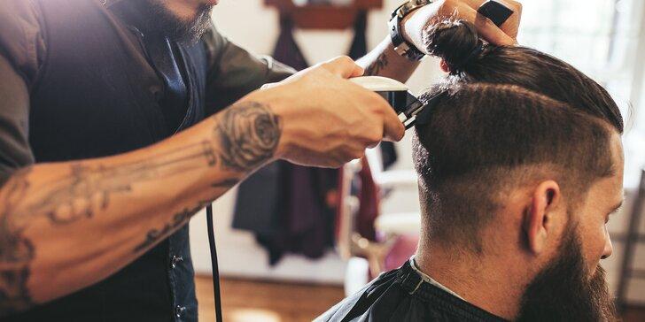 Péče v barber shopu: střih strojkem, klasické stříhání i exclusive shave&cut