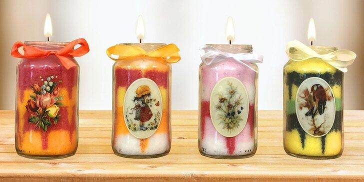 Zábavné vyrábění svíček a koupelové soli v tvůrčí dílně Rodas