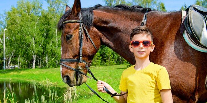 Letní příměstské tábory na koni pro začátečníky i pokročilé od 7 let