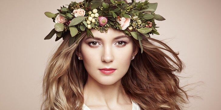 Čas jen pro vás: kosmetický a kadeřnický balíček pro dámy
