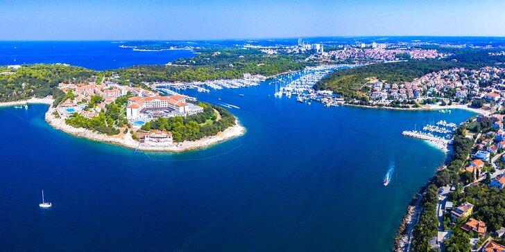 5 nebo 7 nocí na Istrii: studia a apartmány až pro pět osob, 350 m od pláže