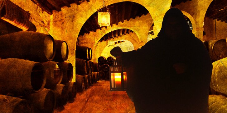Ochutnejte kvalitní víno během unikátní únikové hry v autentickém vinném sklepě