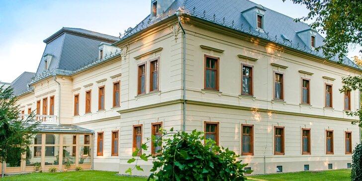Lázeňský hotel v Maďarsku: neomezený vstup do wellness a polopenze
