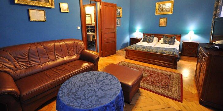 Prvorepublikový sen: 2 noci v apartmá 4* hotelu se snídaní, wellness i masáží