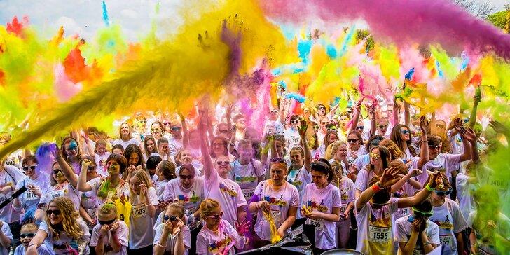 Registrace na zábavný běh Barvám Neutečeš: proběhněte sprškou barev