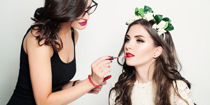 Denní či večerní líčení na jakoukoliv událost od make-up artistky