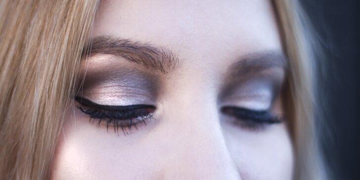 Denní nebo večerní make-up od vizážistky včetně poradenství a péče o pleť