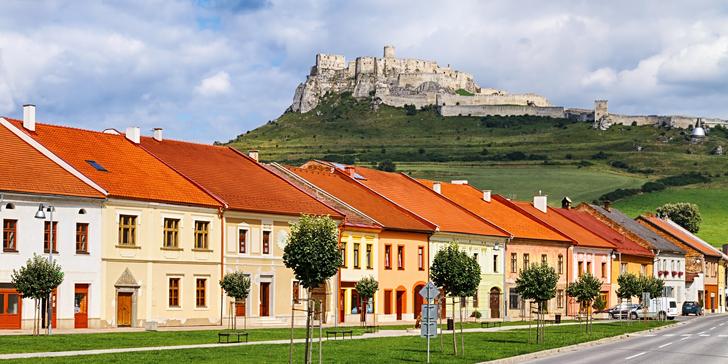 Pobyt ve Slovenském ráji: 2–3 noci se snídaní, možnost rodinného apartmánu