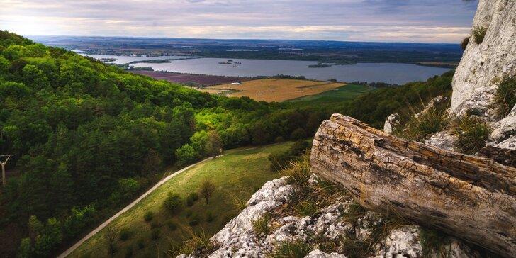 Penzion na Pálavě: polopenze a večery s neomezenou konzumací vína