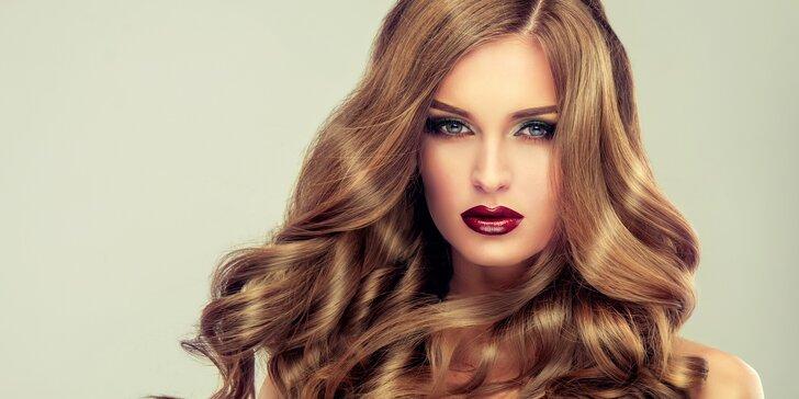 Kadeřnický balíček: melír a nový střih pro všechny délky vlasů