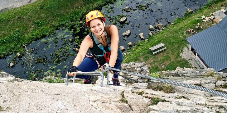 Pro milovníky krás přírody a pohybu: Kurz lezení Via Ferrata