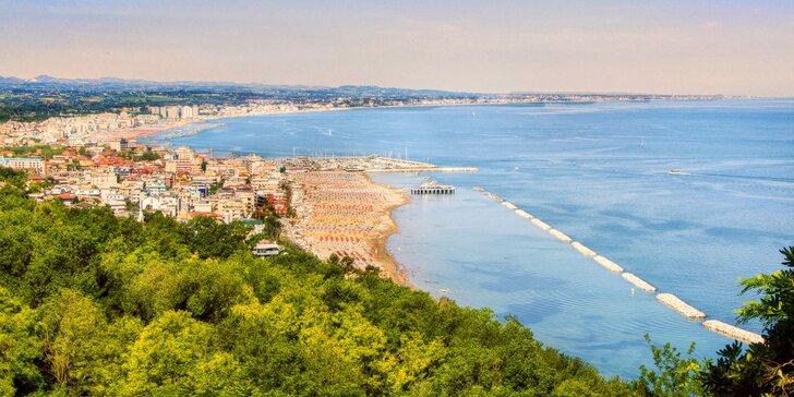 Itálie: 7 nocí v 3* hotelu s polopenzí, možnost využívání bazénu, 2 děti zdarma