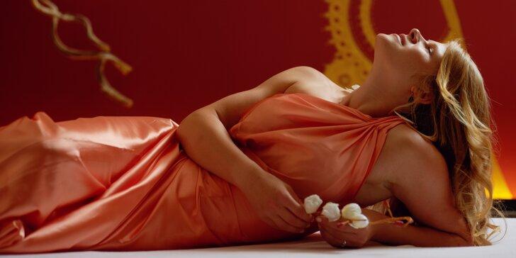 Péče o tělo i duši: 2 hodiny tantrické masáže pro ženy vč. občerstvení