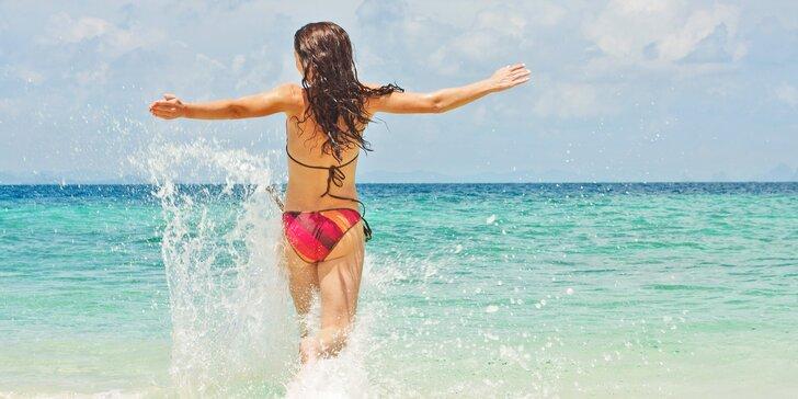 Jednodenní koupání na pláži v Crikvenici vč. oběda, termíny červen–září