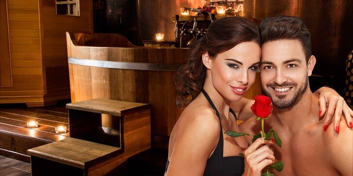 Voňavá romantika: párová koupel s třešňovým olejem a láhev růžového vína