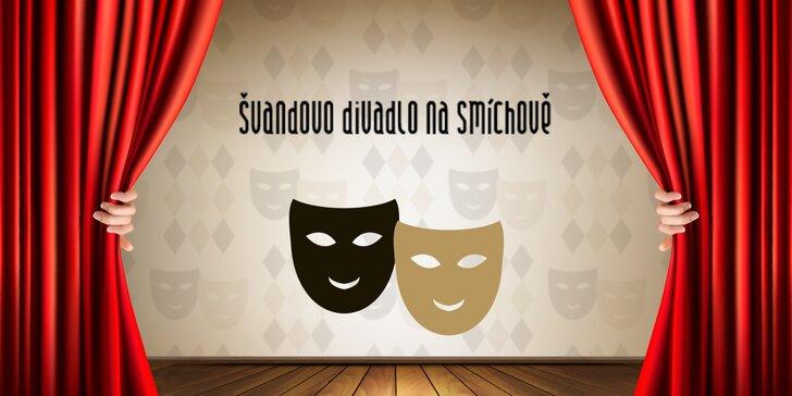 40% sleva až na 4 vstupenky na vybraná představení Švandova divadla