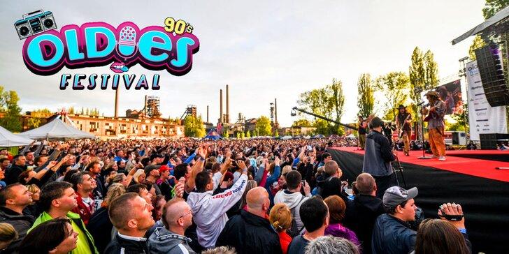 Oldies Festival: super pařba na megaakci s hity 90. let pod širým nebem
