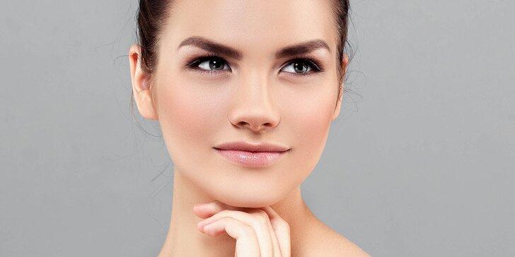 Dvouhodinová péče pro dámy: očista pleti, masáž, úprava obočí i depilace