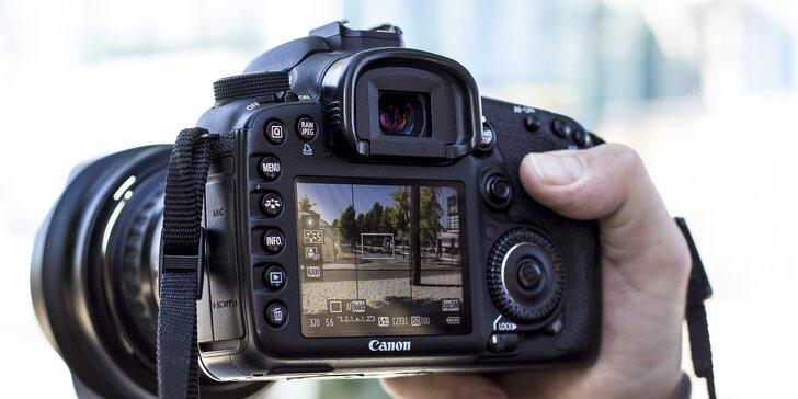 Perfektní fotka na první pokus: kurz focení zrcadlovkou či mobilem