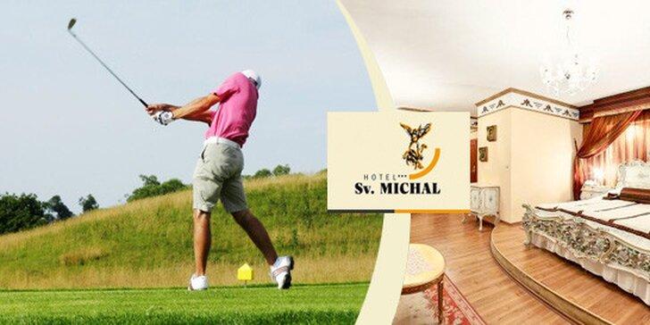 Víkendový All inclusive pobyt s golfem pro dva