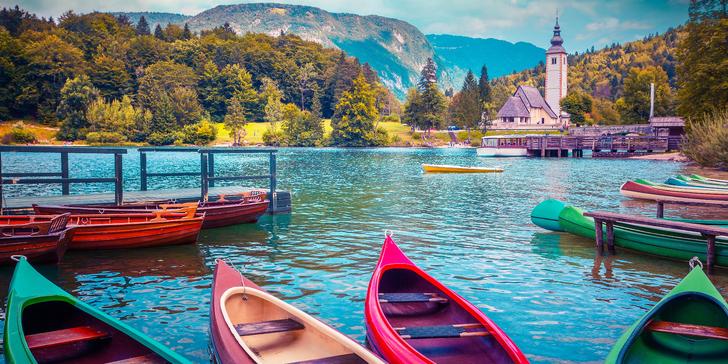 Poznejte nejkrásnější přírodní zázraky Slovinska: 1x nocleh, snídaně, průvodce