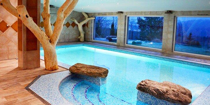 Pobyt v hotelu Podlesí: 1–2 noci s polopenzí, posilovna a vyhřívaný bazén