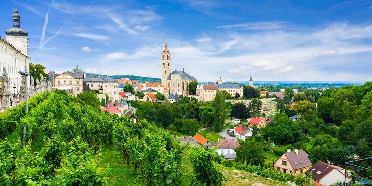 Romantika v Kutné Hoře s relaxací, skvělou kuchyní i audioprůvodcem
