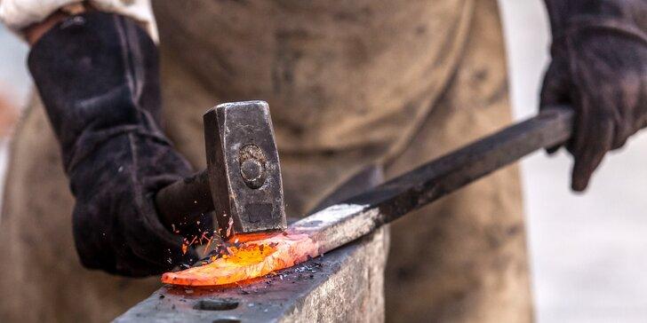Kování pro radost: 5hodinový zážitkový kovářský kurz