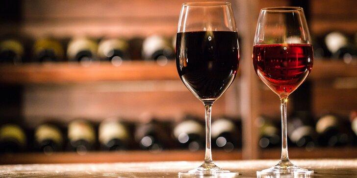 Řízená degustace 8 vzorků kvalitních vín s párováním s farmářskými sýry