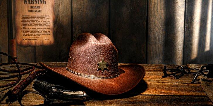 Hodinový zážitek plný akce: úniková hra Western či Sériový vrah