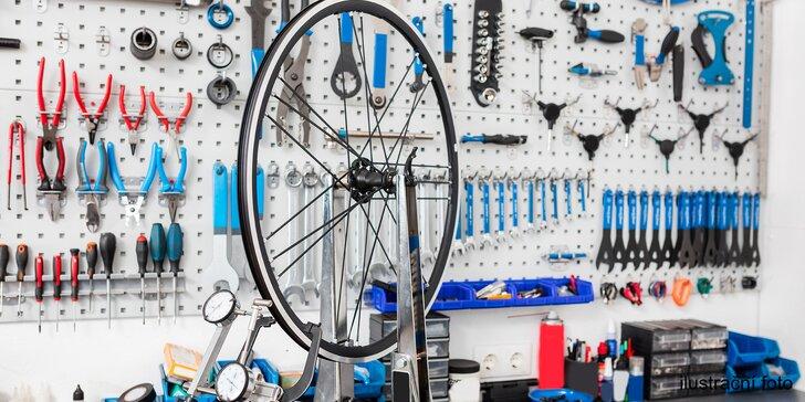 Připravte kolo na sezónu: Základní či velký garanční servis jízdního kola