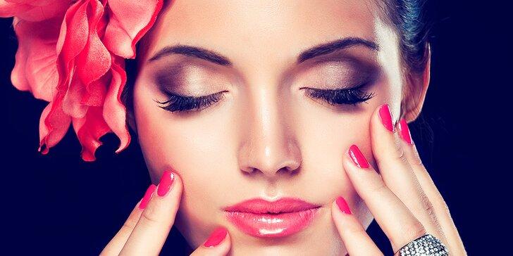 Pečující balíček pro dámy: kosmetické ošetření, manikúra a solárium
