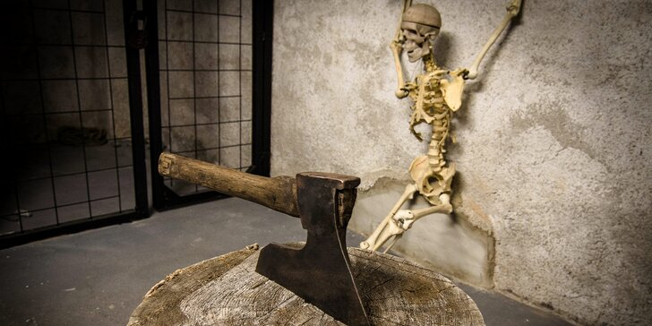 Únikovka Klatba zednářova: utečte z tajného vězení v jízdárně zámku Lednice