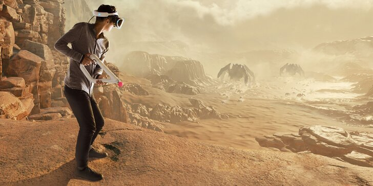 Výlet do virtuálního světa: dinosauři, zombíci i rychlá jízda