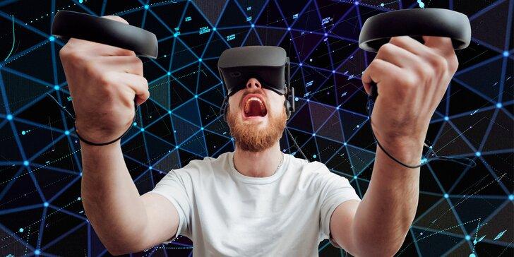 Špičkově vybavená herna virtuální reality: 7 místností a brýle bez kabelů