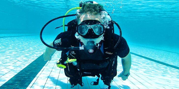 Ponor na zkoušku: staňte se na 45 minut opravdovým potápěčem