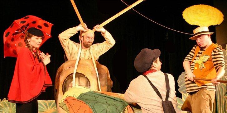 Vstupenka na představení Příhody Ferdy Mravence - sobotní pohádka pro nejmenší
